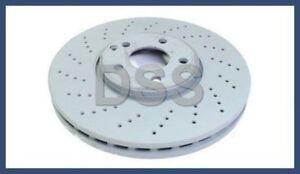 Genuine Mercedes 03-09 4-Matic Brake Disc Front Left + Right Set (x2) rotors OEM