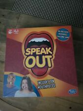Speak Out Game 10 Mouthpieces Included Genuine Original Hasbro Brand New Sealed
