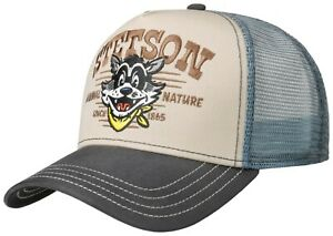 STETSON TRUCKER CAP BASEBALL MESH SNAP CAP KAPPE ANIMAL NATURE 37 NEU TREND