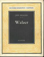"""Brahms : """" Walzer Opus 39 """" -"""