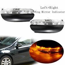 Left & Right Passenger Side LED Wing Mirror Indicator Lamp For 09-12 VW Golf MK6