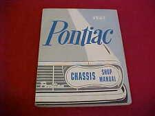 1961 PONTIAC ORIGINAL SERVICE SHOP MANUAL REPAIR BOOK W/ WIRING DIAGRAMS 61 OEM