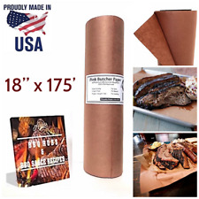 Peach Butcher Paper Roll Beef Brisket BBQ Barbecue Grilling Meat Smoking Wrap