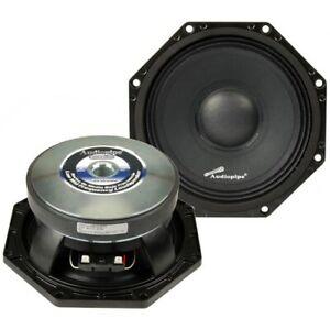 "2 Audiopipe AOCT-850 8"" Octagon Midrange Speaker 500 Max 8-ohm"