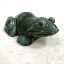 Green Glaze Frog Wall Vase 石湾绿釉青蛙璧瓶
