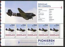 PIONIEREN IN DE LUCHT - DOUGLAS DC-3 DAKOTA - PERSOONLIJKE POSTZEGELS