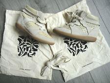 ISABEL MARANT High-Top Sneaker Gr. D 35 Beige Damen Schuhe Bobby Shoes Leather