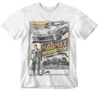 Mad Max T-Shirt supercharger interceptor Japanese Poster 80s V8 Movie Retro Gift