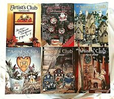 the Artist's Club Back Issue Magazines, 2000,2003,2005,2006 Lot of 6