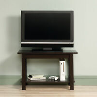 Rustic TV Stand Media Table Living Room Entertainment Unit Cinnamon Cherry Motif