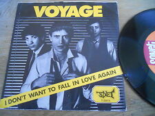 """VOYAGE """"I DONT WANT TO FALL IN LOVE AGAIN"""" 1980 SWEDISH NCB SONET RECORDS RARE**"""