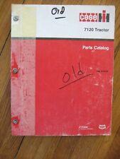 Case Ih 7120 Tractor Parts Catalog Original