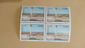 Algeria 2002 Lighthouses Block X4 MNH