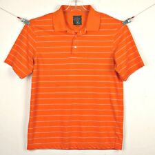 Greg Norman Mens Golf Shirt Polo Sz M for Tasso Elba Play Dry Orange Polyester
