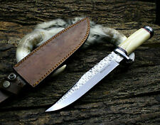 "14""  INCHES D2 Steel Hand forged Custom Made hunting knife"