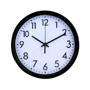 Wall Clock Round Modern Numerals Large Vintage Quartz Decor Home Kitchen Garden