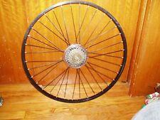 26 X 1.5 Mountain Bike Wheel set  Rims Disc Brake look new but used.FRONT & REAR