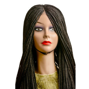 Box Braids Braided Wig With Centre Part