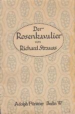 Hugo de Hofmannsthal: el Rosenkavalier EA 1910