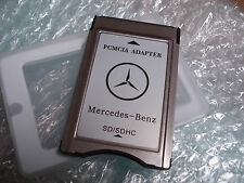New PCMCIA Adapter SD Card Reader for Mercedes Benz C250 E300 E350 GL450 ML350