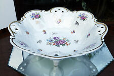 Vintage Ceramics : A large decorative Fruit Bowl - Thuringia