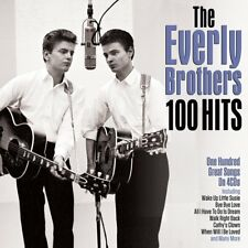 Everly Brothers 100 Hits  One Hundred Original Recordings On 4 CDs Box Set