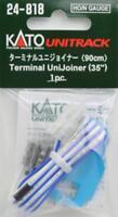 "New Kato 24-818 Terminal Unijoiner 90cm / 35"" Leads N scale Japan"