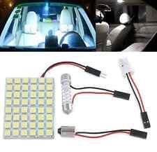 New Car Pure White 48 SMD 5050 LED Light Lamps Panel T10 Festoon Dome BA9S 12V
