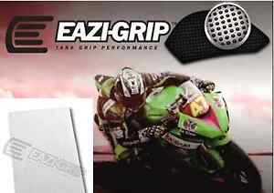 Eazi-Grip™ 'Evo'  Motorcycle Knee Grip Protector Traction Pad  – Clear sheet x 2