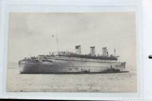 CUNARD WHITE STAR LINE RMS QUEEN MARY ORIGINAL POSTCARD WAR SERVICE ISSUED WW2