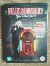 BILLY CONNOLLY 📀📀 YOU ASKED FOR IT 📀📀INCLUDING GREATEST HITS📀(15)