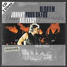 cd single neuf ed limitée JOHNNY HALLYDAY requiem pour un fou  862788