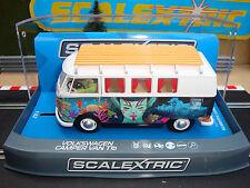 C3891 Brand New Boxed Scalextric VW Camper Van 1b de type Atlantis Camper-LIGHTS