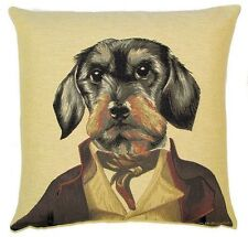 "NEW 18"" MR PICKWICK ARISTODOGS CUSHION COVER 362"