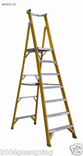 AR-Platform fiberglass step ladder heavy duty overall height 3m standing 2m
