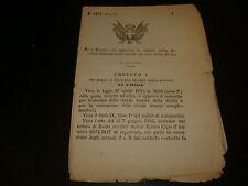 1885 REGIO DECRETO STATUTO SOCIETA' ITALIANA STRADE FERRATE DELLA SICILIA
