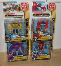 NEW 2018 Transformers Cyberverse Warrior Bumblebee Prime Shockwave Starscream