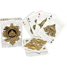 Arcanum WHITE PLAYING CARDS POKER carte da gioco