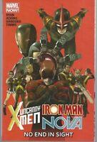 Uncanny X-Men/Iron Man/Nova: No End In Sight TPB Marvel 2014 MCU *