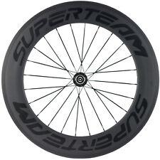 Hinten 88mm Vollcarbon Laufräder 700C Rennrad Fahrrad Laufradsatz Shimano Nabe