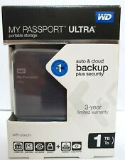 WD My Passport Ultra 1TB Portable Storage USB 3.0 Western Digital Drive ~ryokan