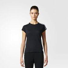 Adidas Essentials 3-Stripes Tee Size S Uk 8-10 rrp £22 LS170 EE 19