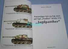 Jagdpanther German tank destroyer Panzerjager 8.8 cm Pak 43/3  Sd Kfz 173