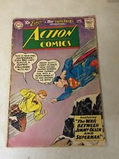 ACTION #253 SUPERMAN, 2ND SUPERGIRL, 10 CENT COVER, KEY ISSUE, 1959