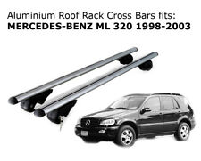 Aluminium Roof Rack Cross Bars fits MERCEDES BENZ ML 320 1998-2003