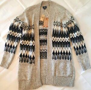 NWT American Eagle faire aisle duster sweater