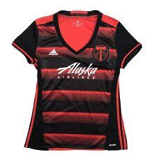 Adidas Portland Timbers Jersey Ladies Large Oregon MLS