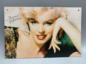Marilyn Monroe 4 Metal Wall Art Sign