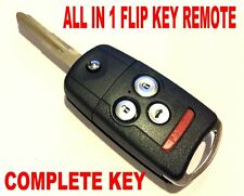 SWITCHBLADE KEY REMOTE FOR 2004-08 ACURA TSX CLICKER ALARM BEEPER CHIP FOB CLICK
