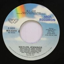 Country 45 Waylon Jennings - G.I.Joe / How Much Is It Worth To Live In L.A. On M